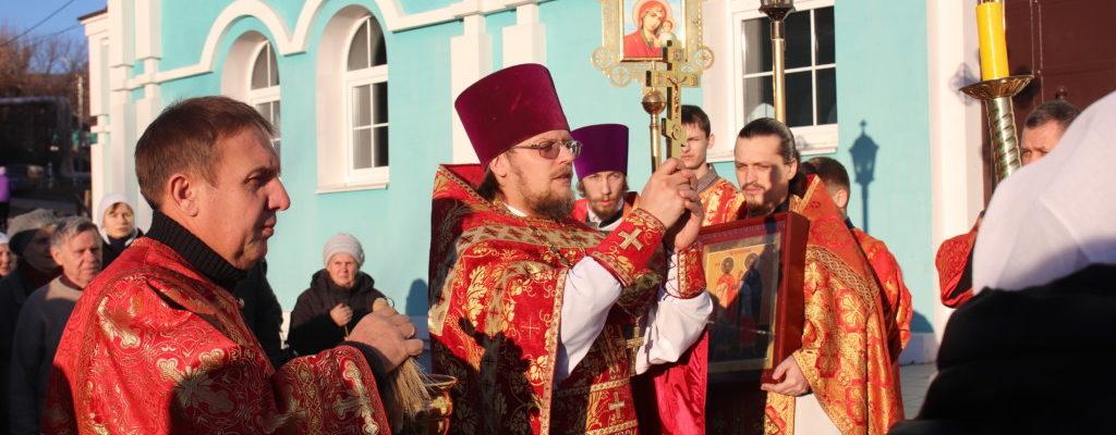 14 ноября, в день памяти святых бессребреников и чудотворцев Космы и Дамиана, наш храм отметил престольный праздник.